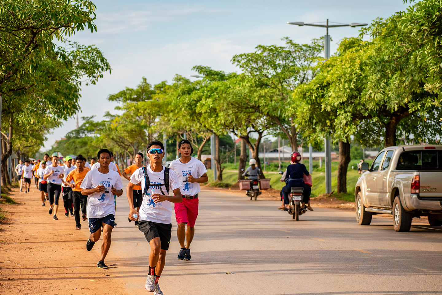 Siem Reap Run to Give 2018 race leaders